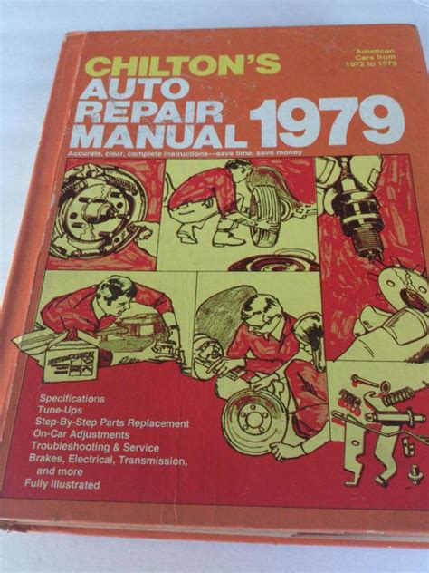 service manual books about how cars work 1979 chevrolet sell chilton 1979 auto repair manual motorcycle in hartland michigan us for us 0 99