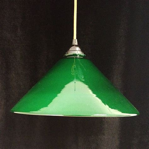 Vintage Green Enamel Pendant Light By Iamia Green Pendant Lighting