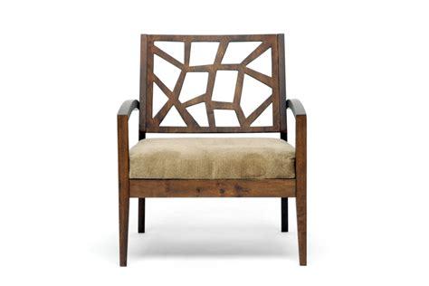 Photo Studio Chair by Baxton Studio Wooden Modern Lounge Chair W