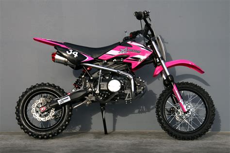 pink motocross 125cc moto 34 pink pit bike can t wait to get one