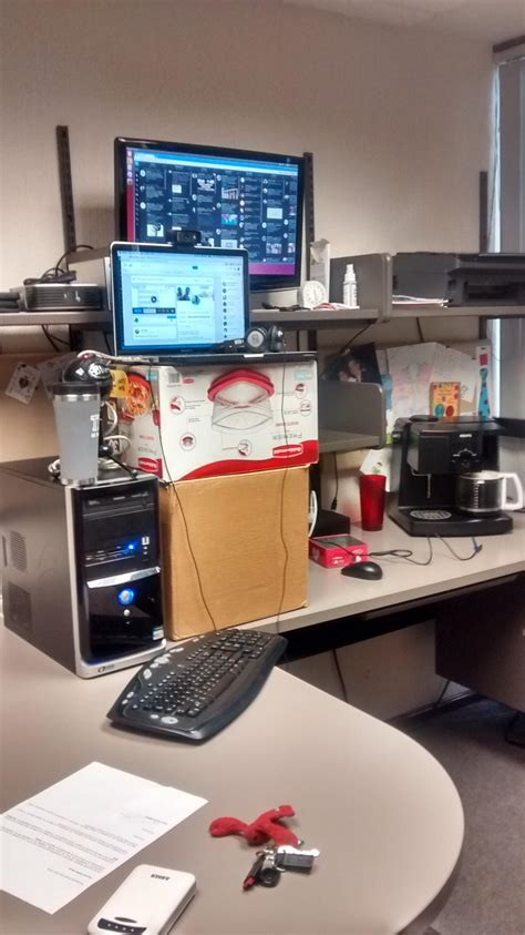 diy convertible standing desk walk while you work you ll be 10x healthier