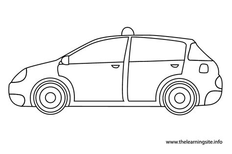 taxi 15 transportation printable coloring pages