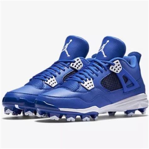 retro football shoes nike air retro iv mcs baseball cleat 807709