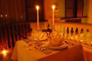 Romantic Dinner redd appron