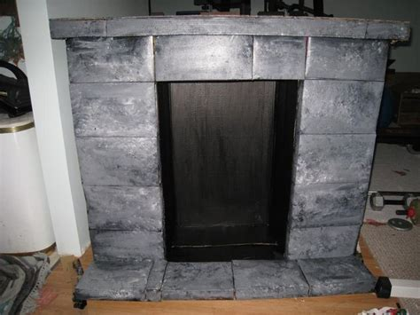1000 ideas about cardboard fireplace on