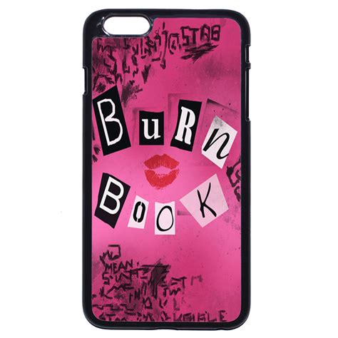 Iphone Iphone 6 Artwork Burn Book burn book for iphone 4s 5 5s se 5c 6 6s 7 plus ipod touch 4 5 6 ebay