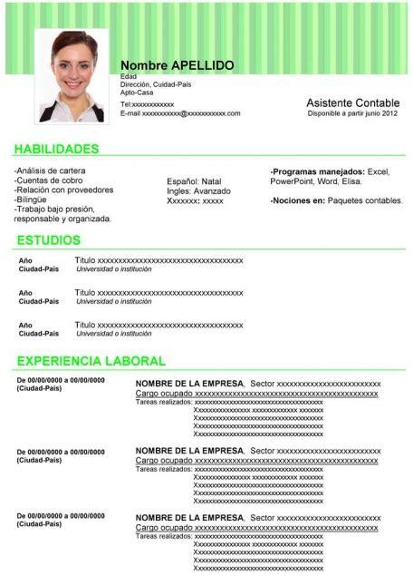 Plantilla De Un Curriculum Empresarial como hacer un curriculum vitae como hacer un curriculum moderno y atractivo