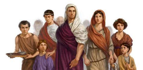 imagenes de la familia romana la familia romana