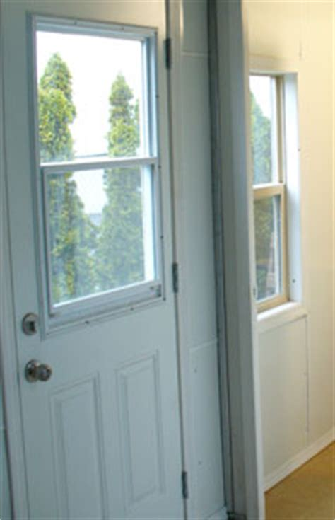 Exterior Door With Window That Opens Domestic Technologies International Inc