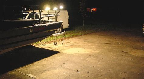 flounder gigging lights for boat flounder boat lights 50w led lights for flounder gigging
