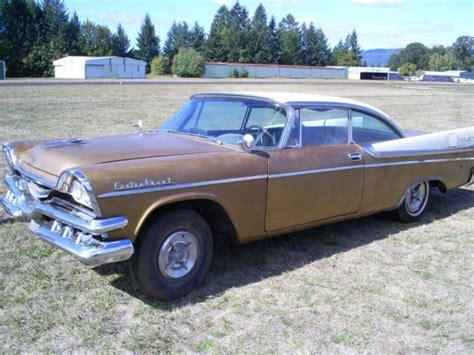 no dodge 1957 dodge custom royal lancer barn find no drive