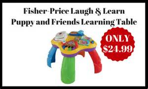 fisher price laugh and learn puppy table fisher price laugh learn puppy and friends learning