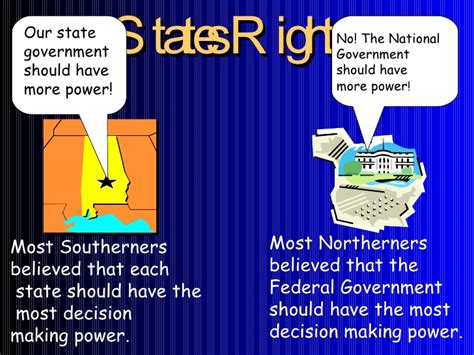 sectionalism and states rights causes of the civil war sectionalism states rights