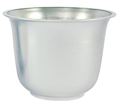 Silver Planter Silver Spun Planter Vacuum Orna Metal