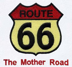 embroidery design route 66 route 66 embroidery designs machine embroidery designs at