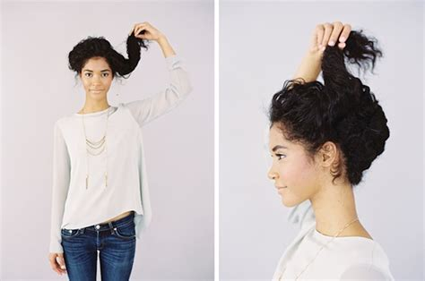 easy waitress hairstyles 21 hairstyles you can do in less than five minutes