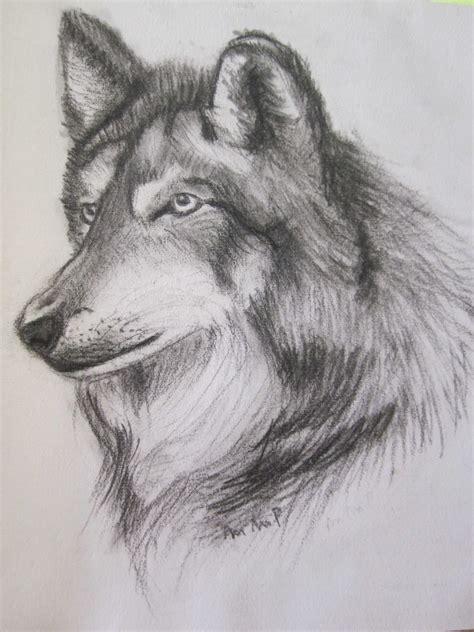 imagenes a lapiz de lobos dibujo de un lobo a lapiz imagui