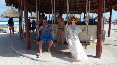 swing bar swing bar on the beach picture of luxury bahia principe