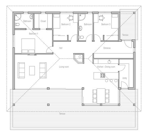 affordable open floor plans 199 best home plans single story images on pinterest