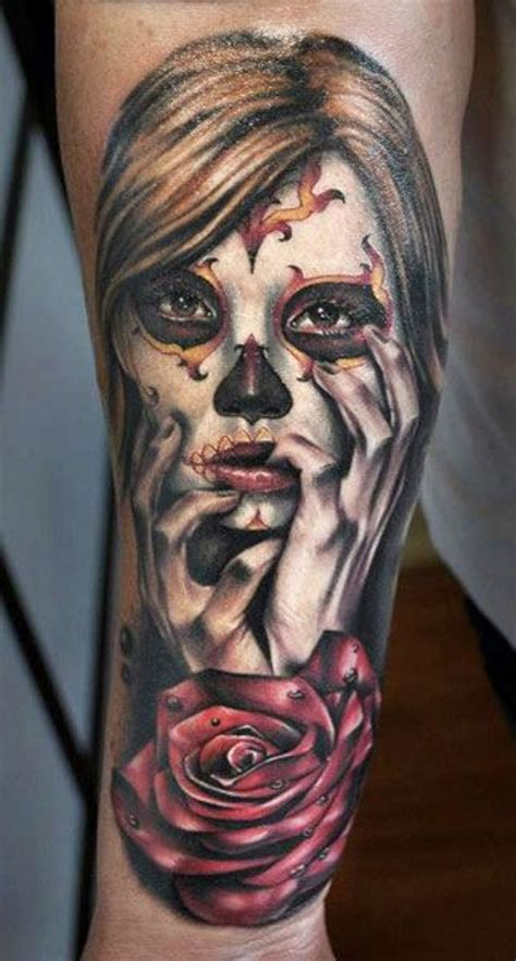 santa muerte tattoo images great santa muerte pictures tattooimages biz