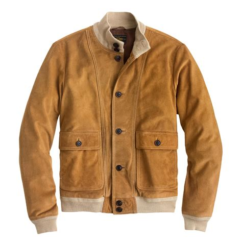 Suede Jacket buttoned suede bomber jacket s coats jackets j crew