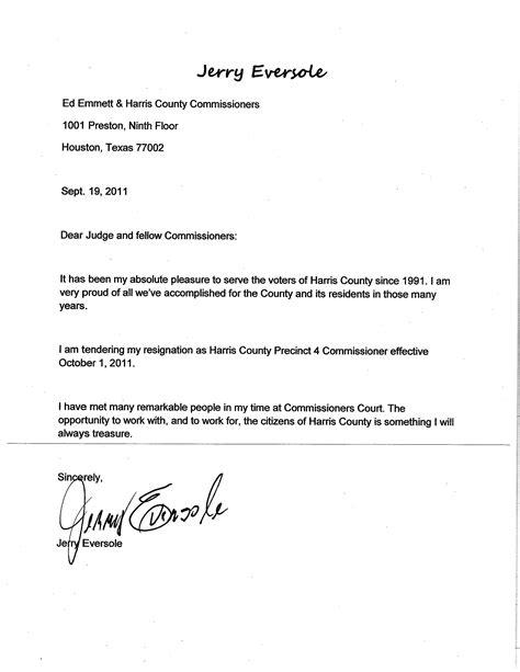 Resignation Letter For resignation letter sles
