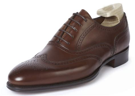Handmade Dress Shoes - handmade oxford brogue leather shoes
