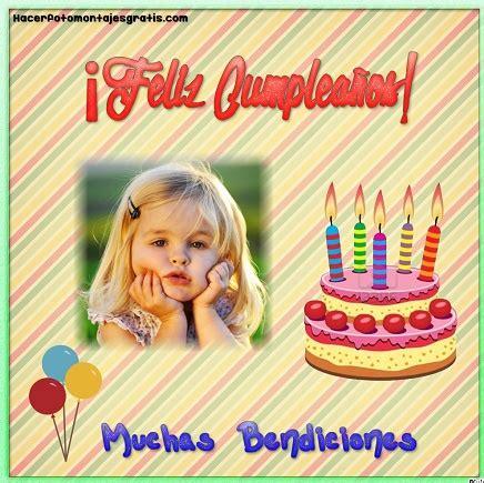 fotomontajes de feliz cumplea os fotomontajes infantiles marcos fotomontaje de feliz cumplea 241 os con frase hacer