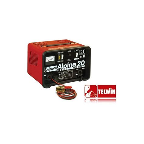 Telwin Battery battery charger telwin alpine 20 boost 12 24 v
