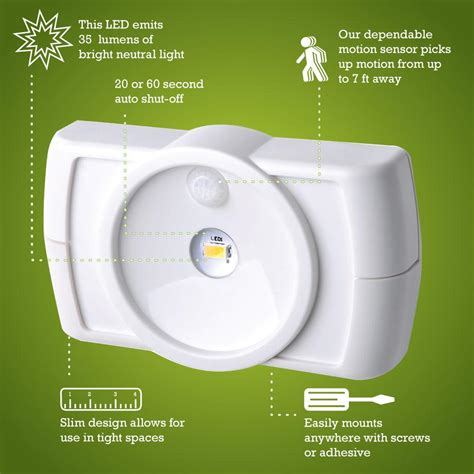 battery powered task lighting mr beams mb854 indoor wireless slim led light with motion