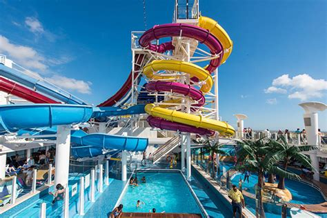 worlds best water parks 7 best cruise ship water parks cruise critic