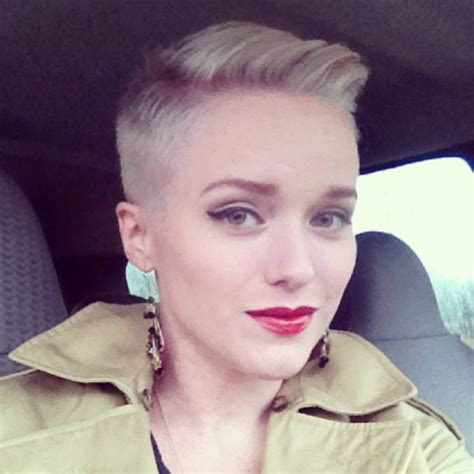 pixie with buzz sides why would a woman want short hair this is amazing