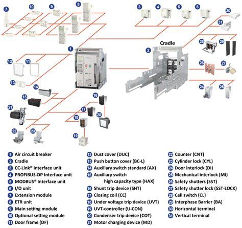 wiring diagram of air circuit breaker k