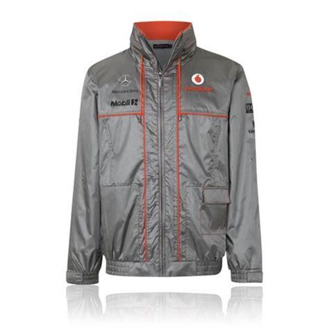 Parka 117 Gold Silver Bm new team waterproof jacket mens 2013 vodafone mclaren mercedes f1 yb racing