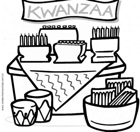 free kwanzaa coloring pages for kids kwanzaa in the