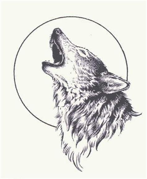 wolf howling at moon tattoo best 25 howling wolf ideas on wolf