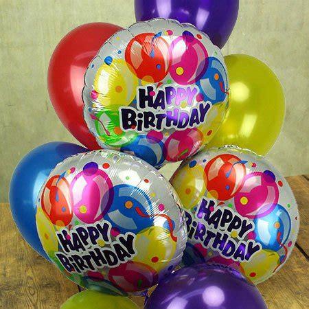 Flower In Vases Arrangements Happy Birthday Balloon Bouquet