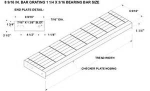 Stair Stringer Thickness by Serrated Bar Grating Stair Treads Galvanized Treads