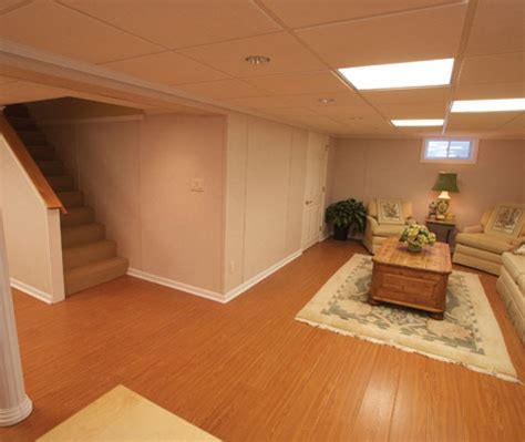 beautiful wood laminate basement flooring in danbury new