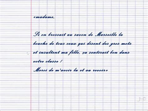 Modele De Lettre Pour Absence Ecole lettre dexcuse pour absence
