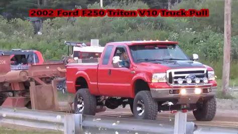 Ford Triton V10 by 2002 Lifted Ford F250 Triton V10 Truck Pull
