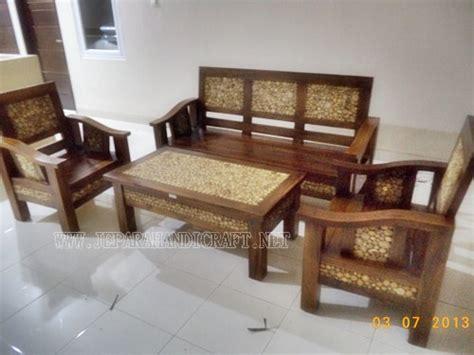 Satu Set Kursi Tamu Jati jual furniture kursi tamu minimalis antik jati jepara