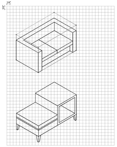 How To Draw 3d Furniture how to draw furniture in 3d with pictures wikihow