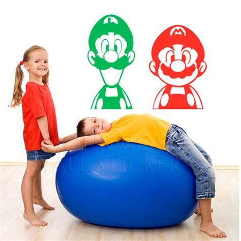 Mario Brothers Wall Stickers online buy wholesale mario games boys from china mario