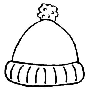 Coat For Women In Winter Clothing Coloring Page Coloring Sun Winter Hat Coloring Page
