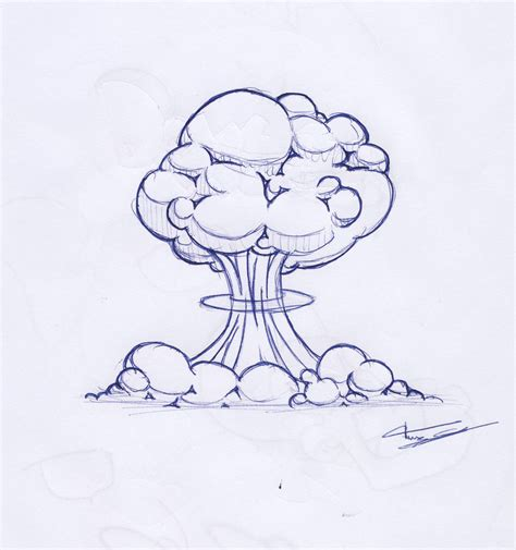 doodle nuclear bomb nuclear bomb explosion drawing www imgkid the