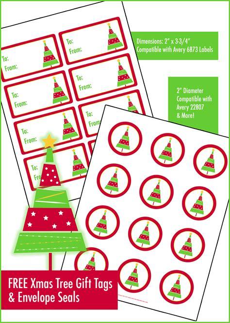 walmart printable name tags free printable christmas tree gift tags envelope seals
