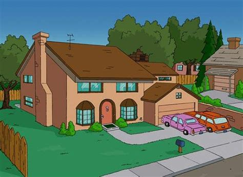 simpsons carrot curtains 5 cartoon houses come to life smosh