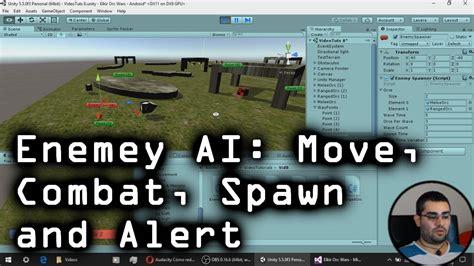 unity tutorial enemy unity tutorial enemy ai combat movement spawn alert