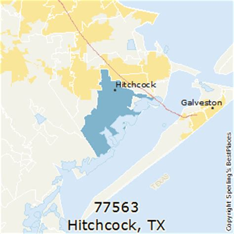 hitchcock texas map best places to live in hitchcock zip 77563 texas
